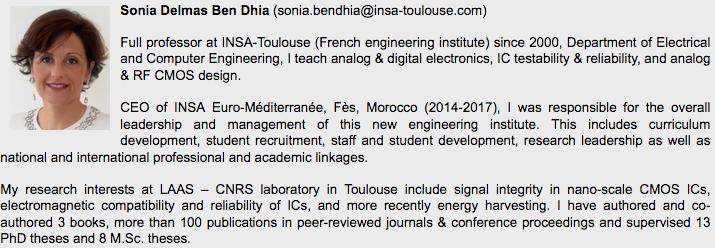CV de Sonia Ben Dhia
