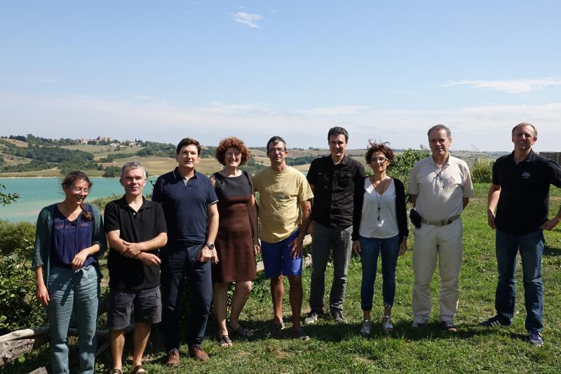 Photographie des membres de l'équipe ESE