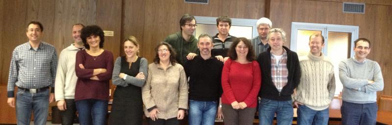 Photo des membres de l'équipe