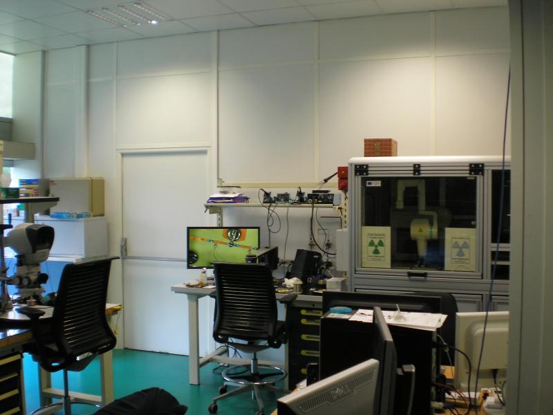 Machine de contrôle de soudure à rayons X