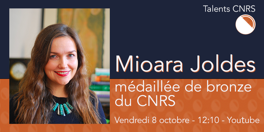 Mioara Joldes médaillée de bronze du cnrs