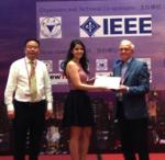 Chaimae Ghfiri, best paper award APEMC2016