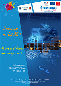 Affiche Fête de la science 2013